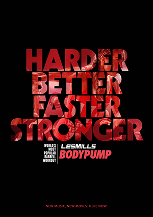 Neues Body Pump Release